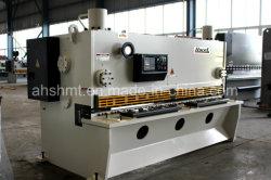 QC11Y-6*3200mm de cisaillement de la guillotine hydraulique Machine/plaque hydraulique/scie de la machine de Cisaillement Le cisaillement de la machine avec angle de coupe réglable