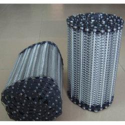 Steel di acciaio inossidabile Conveyor Belt per Food Processing, Heatreatment Industry