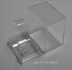 De duidelijke Acryl Plastic Verpakkende Doos van het Horloge