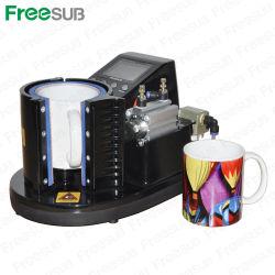 3D de sublimación Prensa ST-110 de neumática Mug con aprobación CE