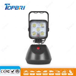 Hotsale 15W携帯用再充電可能なLEDの立場作業ランプ
