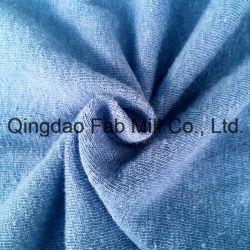 Fabbricato della Jersey cotone organico/della canapa singolo (QF13-0346)