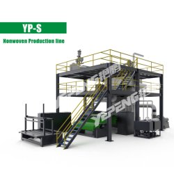 안정적으로 자동적인 PP는 기계를 만드는 광속 비 길쌈한 직물을 골라낸다