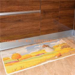 Piso de cozinha moderna decorativa /Porta Tapete de Nylon