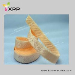 Cinghia di spalla elastica del reggiseno del cotone del jacquard di nylon del poliestere
