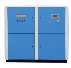 55kw/HP 75 de agosto de parado compresor de tornillo refrigerado por aire
