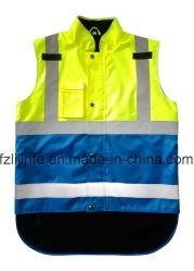صدريات سلامة الملابس التأملية عالية الوضوح مع المحرك En471