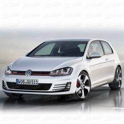 Style GTI PP Body Kit pour 2014-2016 VW Golf 7 (JSK300505)