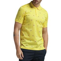 도매 주문 Mens 여름 폴로 셔츠, 포켓을%s 가진 대량 공백 폴로 의류 의복