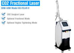 Медицинские дробные CO2 лазера в глаза складки омоложения кожи