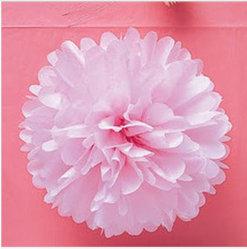 Hot vendre Poms POM Papier coloré pour le parti de la décoration
