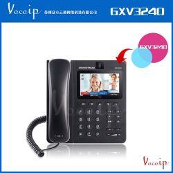 Telefono Android Grandstream del IP di Gxv3240video