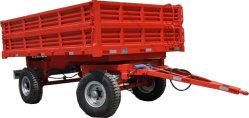 4 Колеса сельскохозяйственной фермы трактор погрузчик Tailer сброса прицепа 5 тонны (SHT50H)