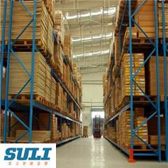 Большой склад на заводе Quanlity стеллажа для поддонов системы