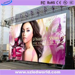 広告(P2.5/P3/P3.91/P4/P4.81/P5/P6/P6.25/P8/P10)のための遠隔コントローラが付いている屋外か屋内レンタル広告のLED表示スクリーンのパネルのフルカラーのボード