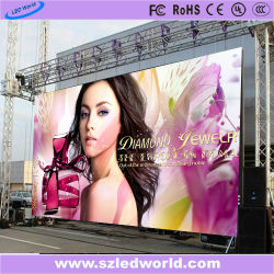 Alquiler de la publicidad exterior/interior del panel de pantalla LED de la Junta a todo color con mando a distancia de la publicidad (P2.5/P3/P3.91/P4/P4.81/P5/P6/P6.25/P8/P10)