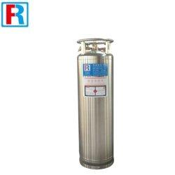 Criotubo Gás Natural Liquefeito Dewar de oxigênio Gás Tabung 210L