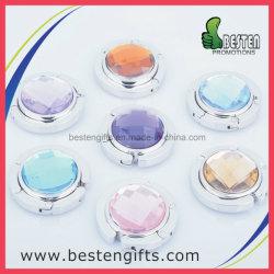 Zoll-unterschiedliche Farben-Stein-Diamant-Metallbeutel-Aufhängung