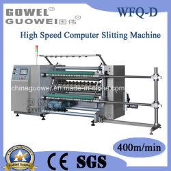 (WFQ-D) contrôlé par ordinateur Machine de découpe automatique haute vitesse