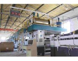Automaitc runzelte 3/5/7 Schicht-Produktionszweig Maschine für die Karton-Papierherstellung