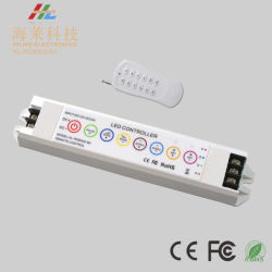 12-24V draadloos Gevoelig van hoofd rf 6A*3CH RGB Controlemechanisme