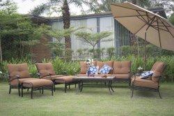 Traditoinal USA Patio 7 Stücke Sectoinal Sofa-gesetzte Gussaluminium im FreienGaren Möbel-
