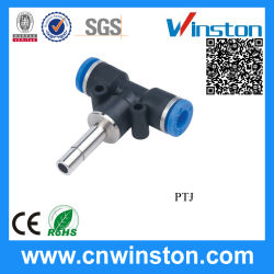 Reducer alimentabile Tee Pneumatic Connector Fitting con CE