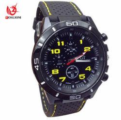 Os homens de vigilância militar barata Sport homens Relógios de quartzo Relogio #V485