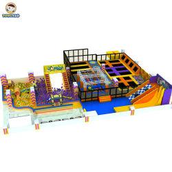 Commerce de gros bon marché d'enfants Commercial Terrain de jeux intérieur Les prix des équipements de terrain de jeux intérieur doux