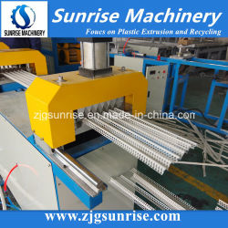 Plastik-Belüftung-Eckraupe-Winkel-Raupe-Profil-Strangpresßling, der Maschine Belüftung-Produktions-Maschine herstellt