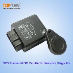 J1939 de OBD II Rastreador GPS com Diagnóstico para veículo & Carros, RFID suportados (TK228-WL)