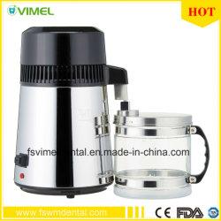 304 Distillateur van het Water van het roestvrij staal 4L de Zuivere met de Kruik van het Glas