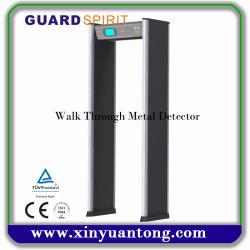 Organisme de sécurité économique professionnel Porte du scanner, promenade à travers le détecteur de métal, armes à feu et armes du détecteur de métal