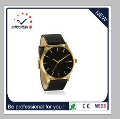 Het Horloge van de Sport van de Mode van de Charme van de Verkoper van China met de Riem van het Leer (gelijkstroom-1412)