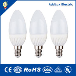 3W 85V-265V E14 barato por grosso marcação UL Saso Círio SMD Lâmpada de iluminação LED fabricado na China para Bar, Home, restaurante, salão de iluminação Melhor fábrica do Distribuidor