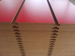 لوحة MDF منقوعة من الميلامين ذات فتحة 18 مم