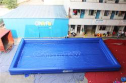 Grande piscina inflável quadrada para parque aquático (CHW455L)