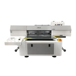 Alimentação de fábrica N6090 Impressora plana UV para telefone celular caso/Tile/Vidro/frasco