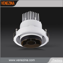 Ideale per illuminazione dell'interno compatibile con la batteria Emergency Dimmable LED Downlight