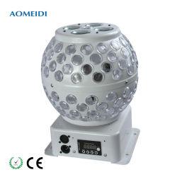 Светодиод шаблон Crystal Magic шарик DMX 512 вращающаяся группа фонарей рабочего освещения
