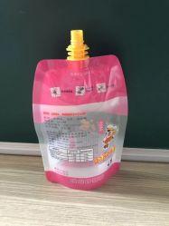 多PEの口は飲料ジュースのパッキング袋のDoypackの包装を飲む液体の記憶の圧搾袋のためのパッケージ袋を立てる