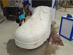 Castro statue en marbre blanc naturel/Sculpture/granit/sculpté pour Plaza de sculpture sur pierre/jardin/décoration