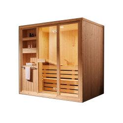 Luxory 4person steuern Badezimmer-gesundheitliche Ware-Sauna mit Stein automatisch an