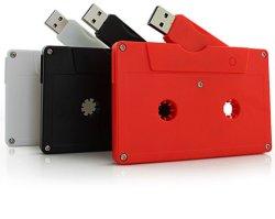 Comercio al por mayor nueva cinta nostálgica de simulación U disco/ABS Cinta magnética/ las cintas de audio USB Flash Drive 32GB 128GB 64 GB.