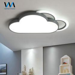 Номера оформлены детей светодиодного освещения потолочные лампы формы облачных вычислений