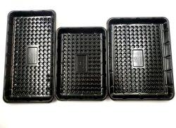 Cassetto di plastica a gettare dell'acqua assorbibile per l'imballaggio della carne