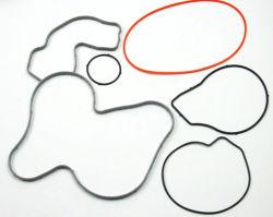 Delen de Op hoge temperatuur van het Silicone van de Rang van het voedsel met de Vorm van de O-ring