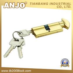 Высокий уровень безопасности Brasss стопор цилиндра / Профиль цилиндр блокировки (CYL 06-01 SN)