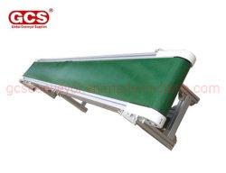 Специализированные ПВХ ременный конвейер/простой структуры ПВХ ленты конвейера производственной линии