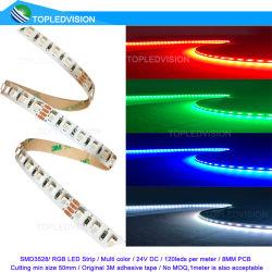 Non étanche3528 120LEDs SMD LED RVB de séquence pour la salle de séjour Cuisine Salle de bains